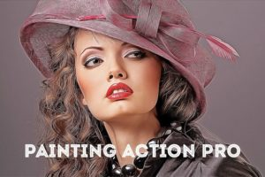 Krystal Creations Painting Action Pro Photoshop Actions