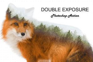 Krystal Creations Double Exposure Photoshop Action