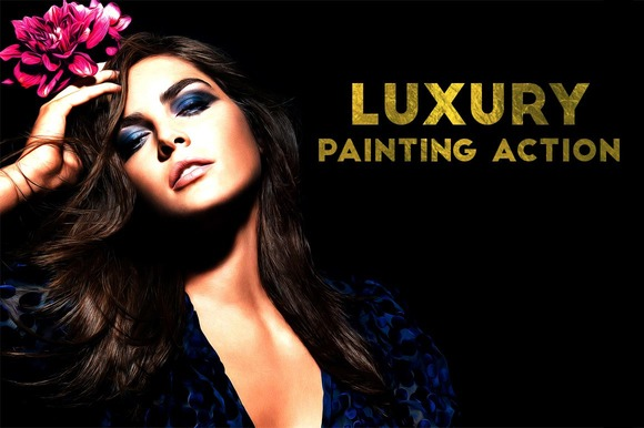 Krystal Creations Luxury Painting PS Action