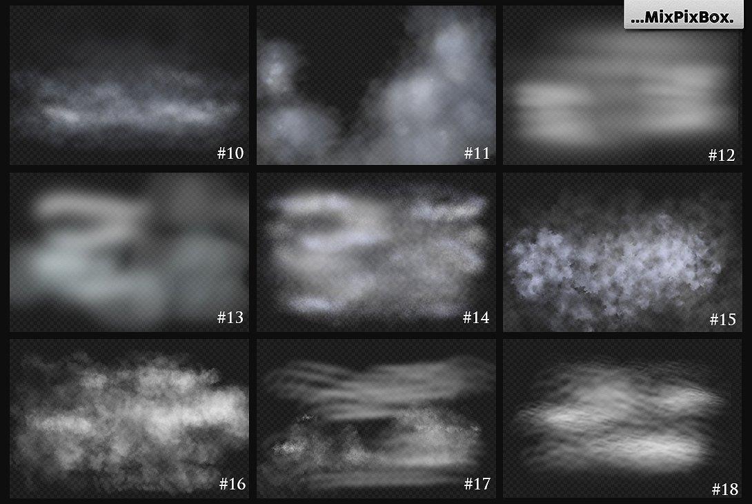 foggy photo overlays effects