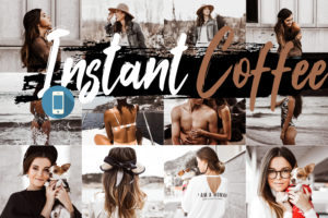 Neo Instant Coffee Theme Mobile Lightroom Presets