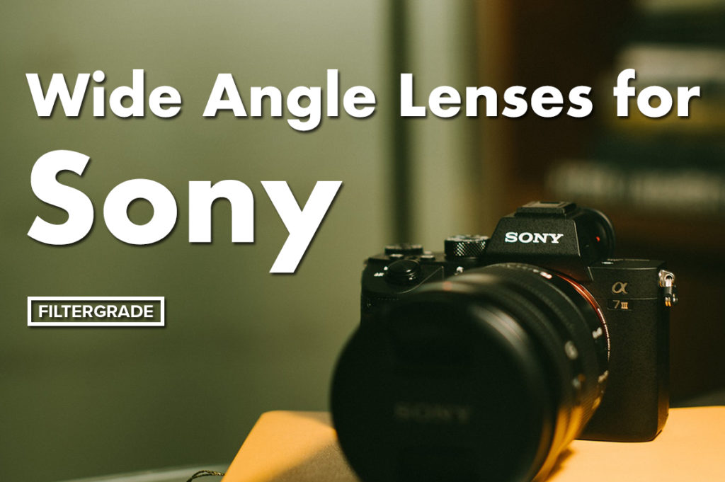 Best wide angle lenses for Sony E Mount Cameras