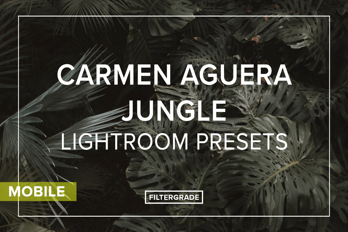 Carmen Aguera Jungle Lightroom Mobile Presets
