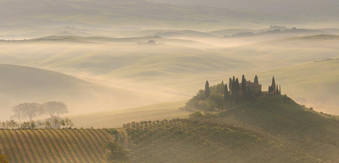 rolling hills Tuscany, Italy - marat stepanoff