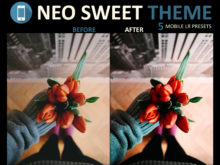 3Motional neo sweet theme mobile presets