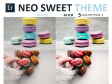 neo sweet theme food photo presets