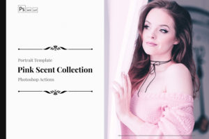 Pink Scent PS Actions & LUTs Bundle