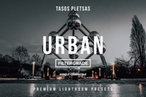 Tasos Pletsas Urban Lightroom Presets (Desktop + Mobile)