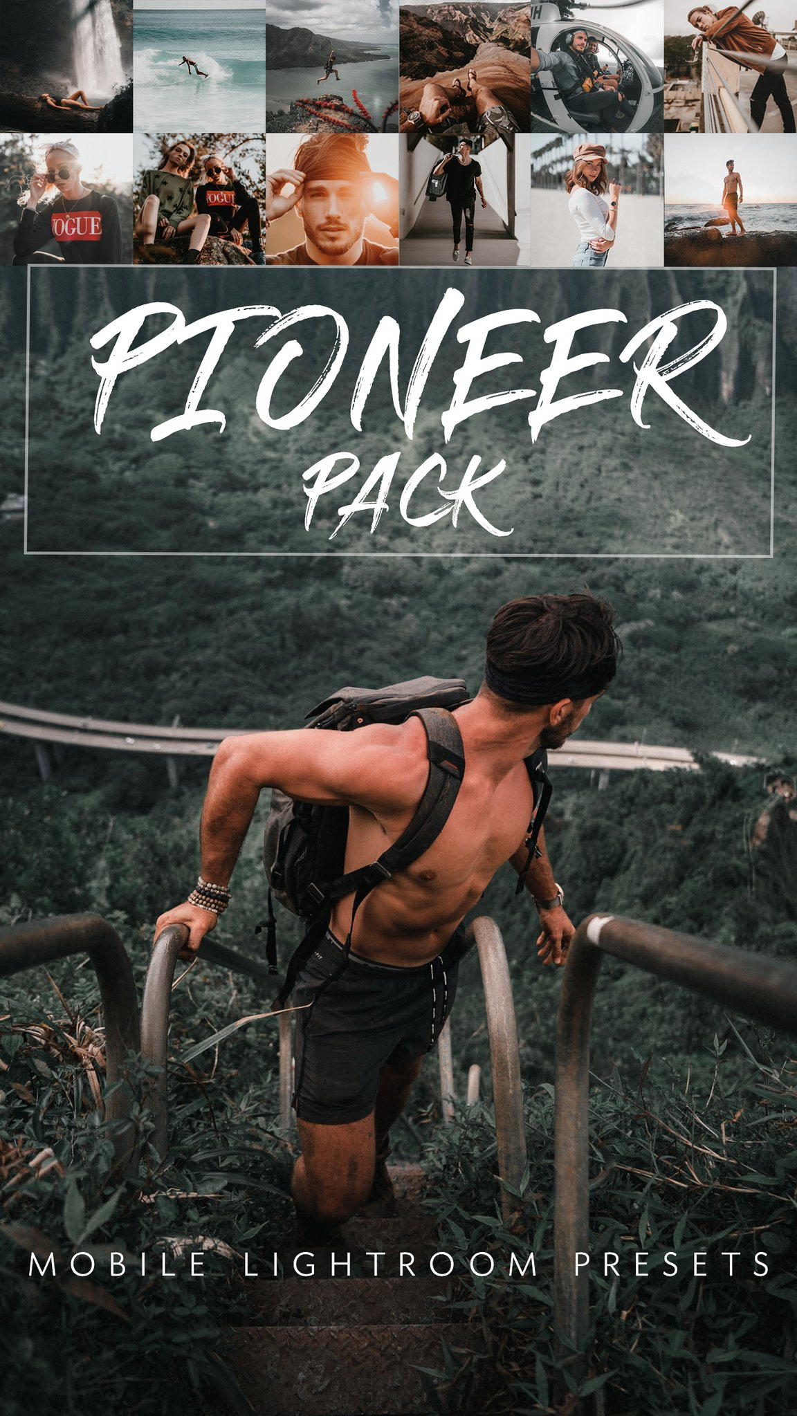 Joe Yates Pioneer Lightroom Presets Pack (Desktop + Mobile)