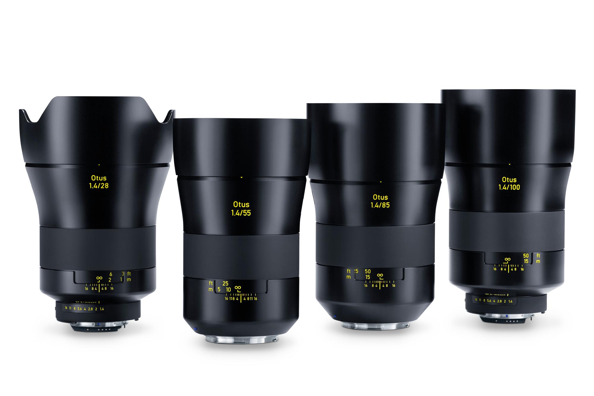 zeiss otus family of lenses