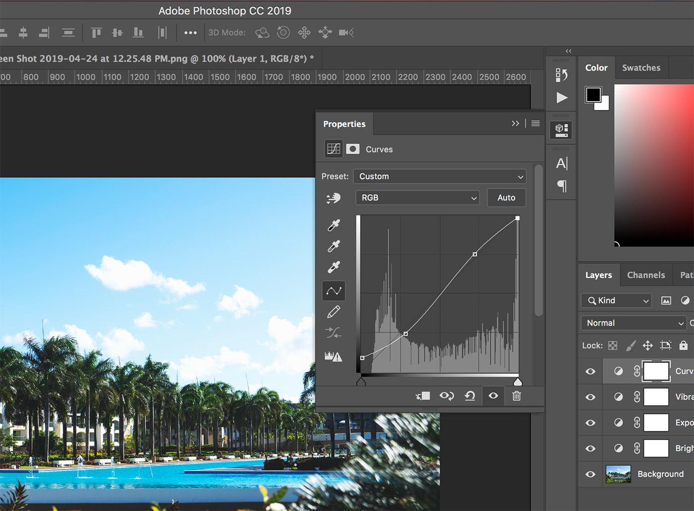 matte effect in photoshop tutorial