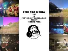 CMK PRO MEDIA LUTs and PS/CAMERA RAW PRESETS (COMBO PACK)