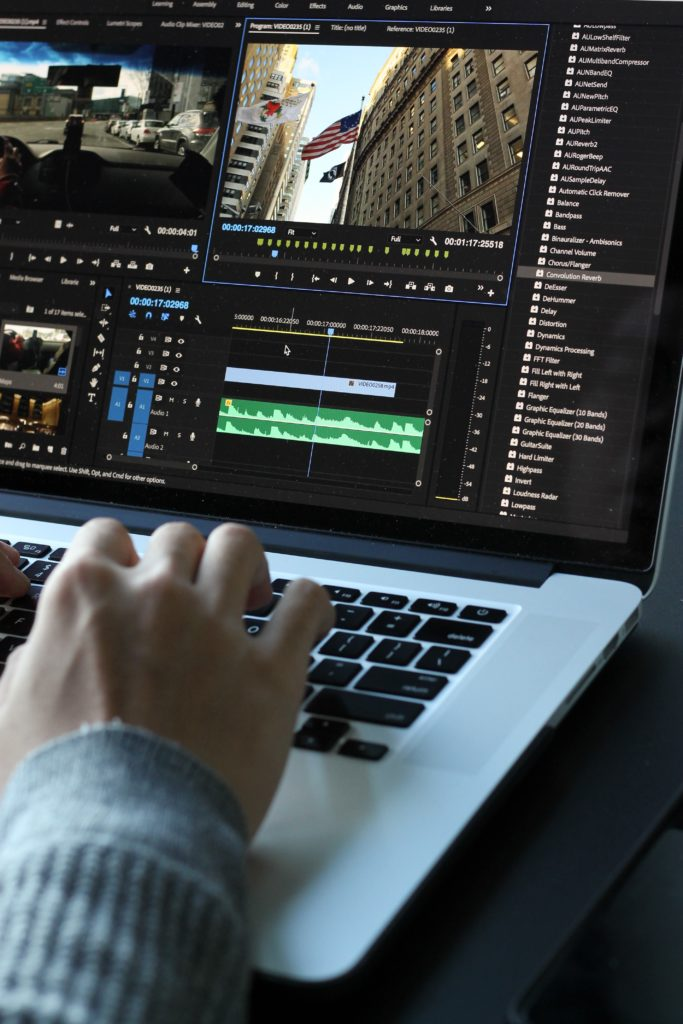 editing video in premiere pro on macbook