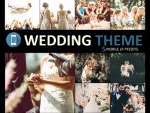Neo Wedding Theme Mobile Lightroom Presets
