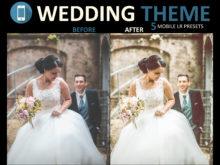 wedding mobile presets