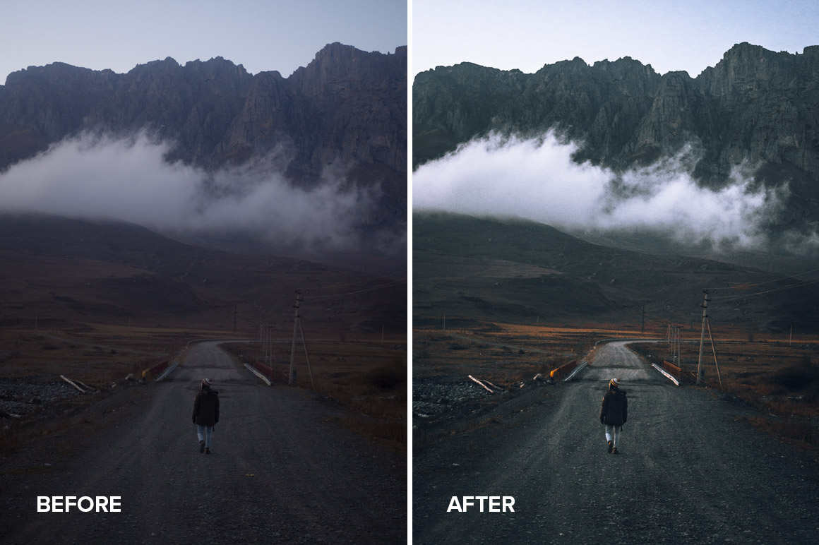 faded matte travel presets