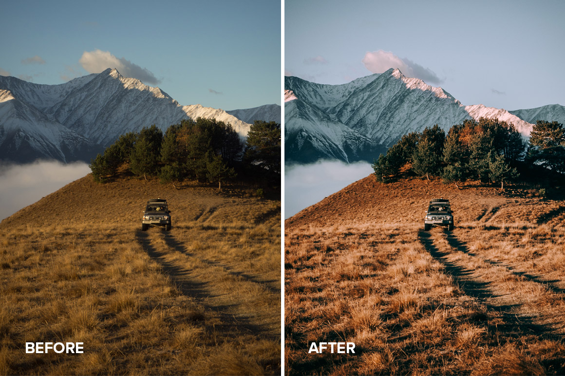 lifestyle and outdoor photo presets