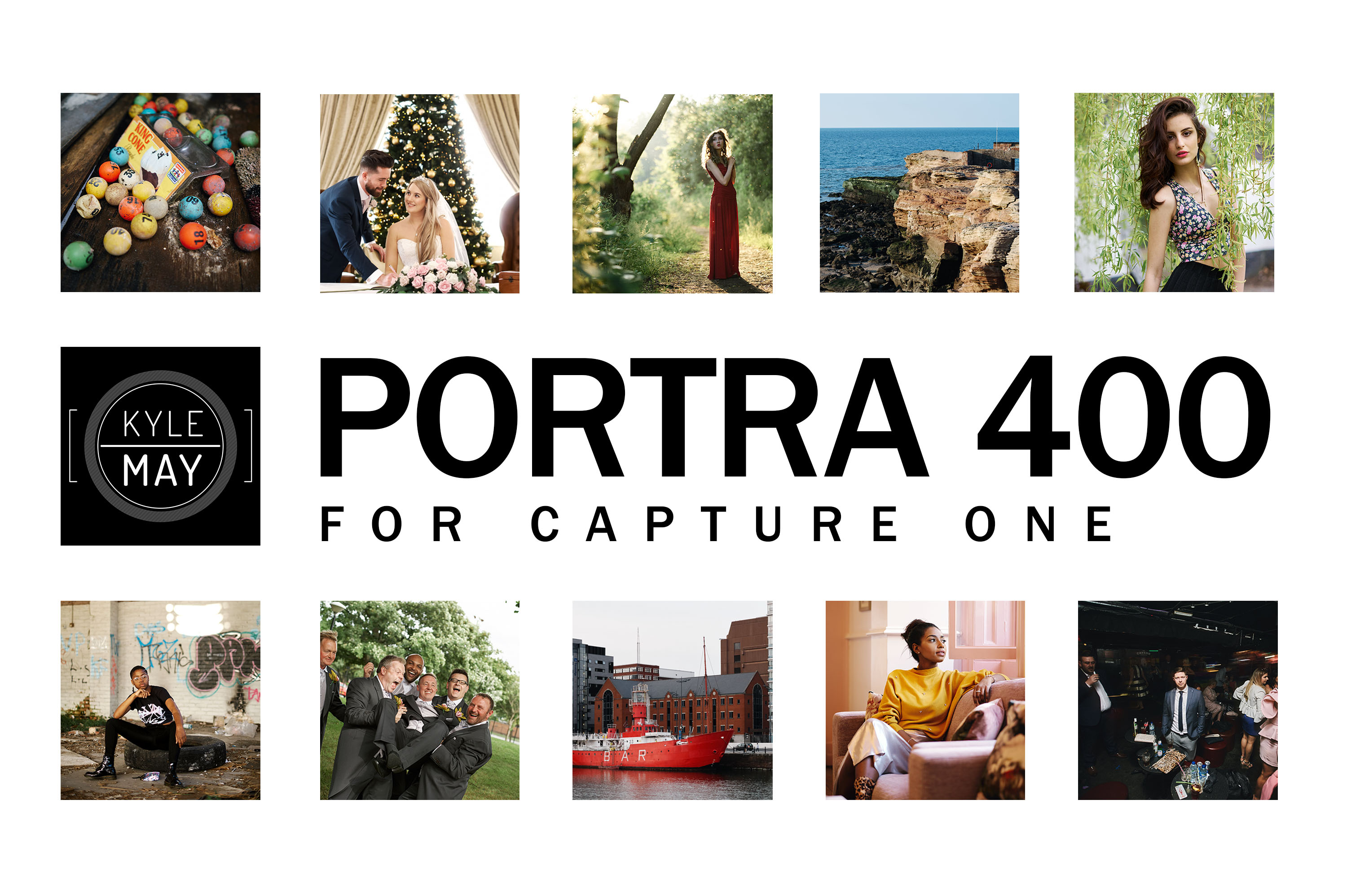[Kyle May] The Portra 400 Styles Pack for Capture One