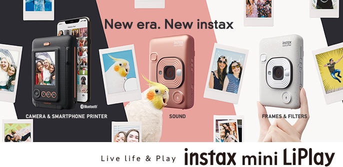 Fujifilm instax mini LiPlay new