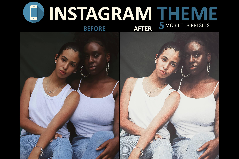 mobile preset instagram