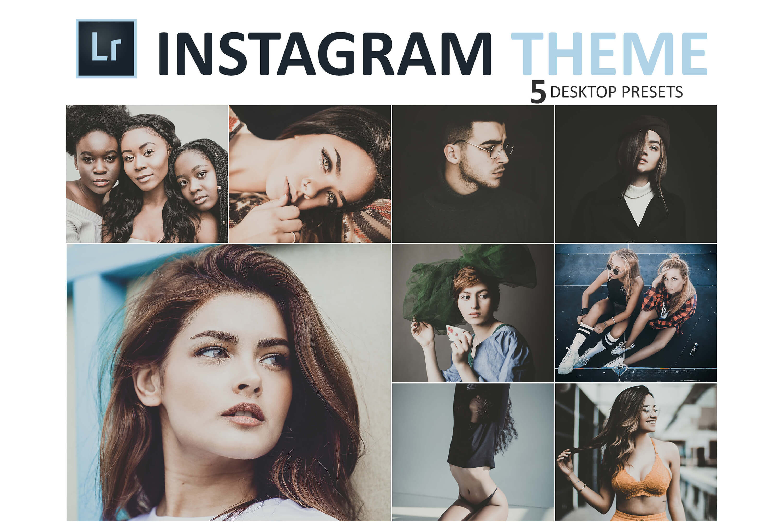 Instagram Theme Desktop Lightroom Presets