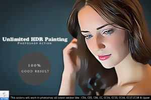 Unlimited HDR Painting PS Actions by Vatdesign