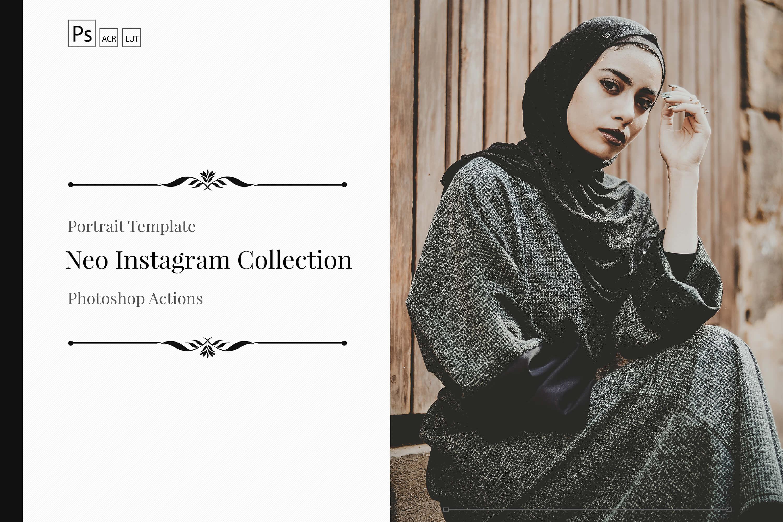 Instagram Theme PS Actions & LUTs Bundle
