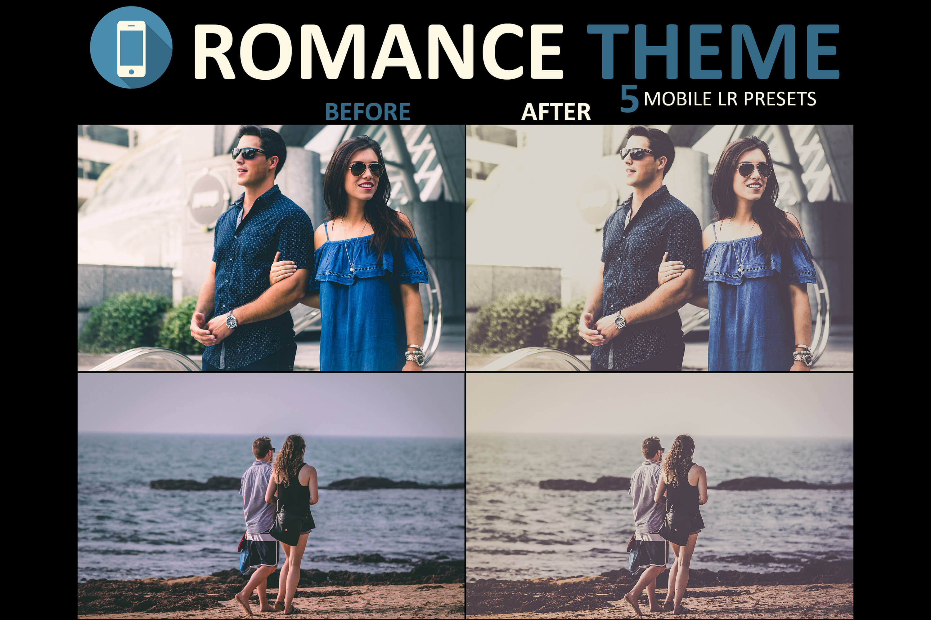 romantic mobile presets