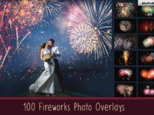 Fireworks Photo Overlays Bundle