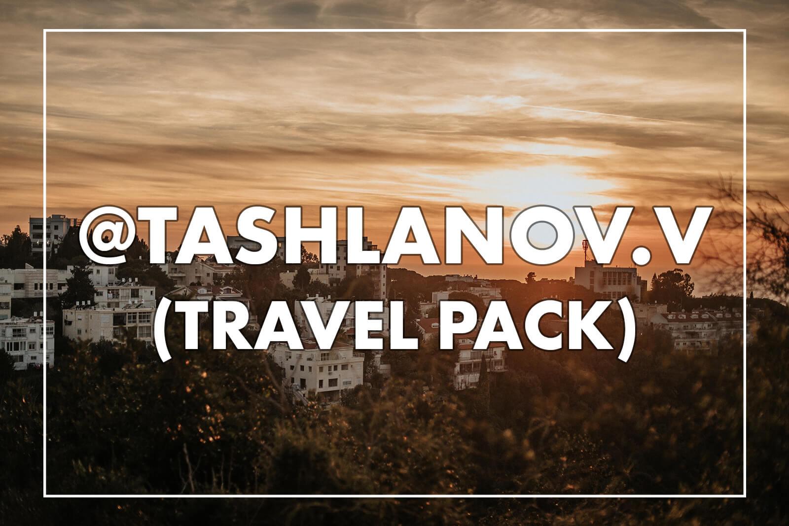@tashlanov.v – 22 Travel Lightroom Presets + Mobile
