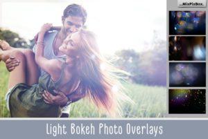 60 Light Bokeh Photo Overlays