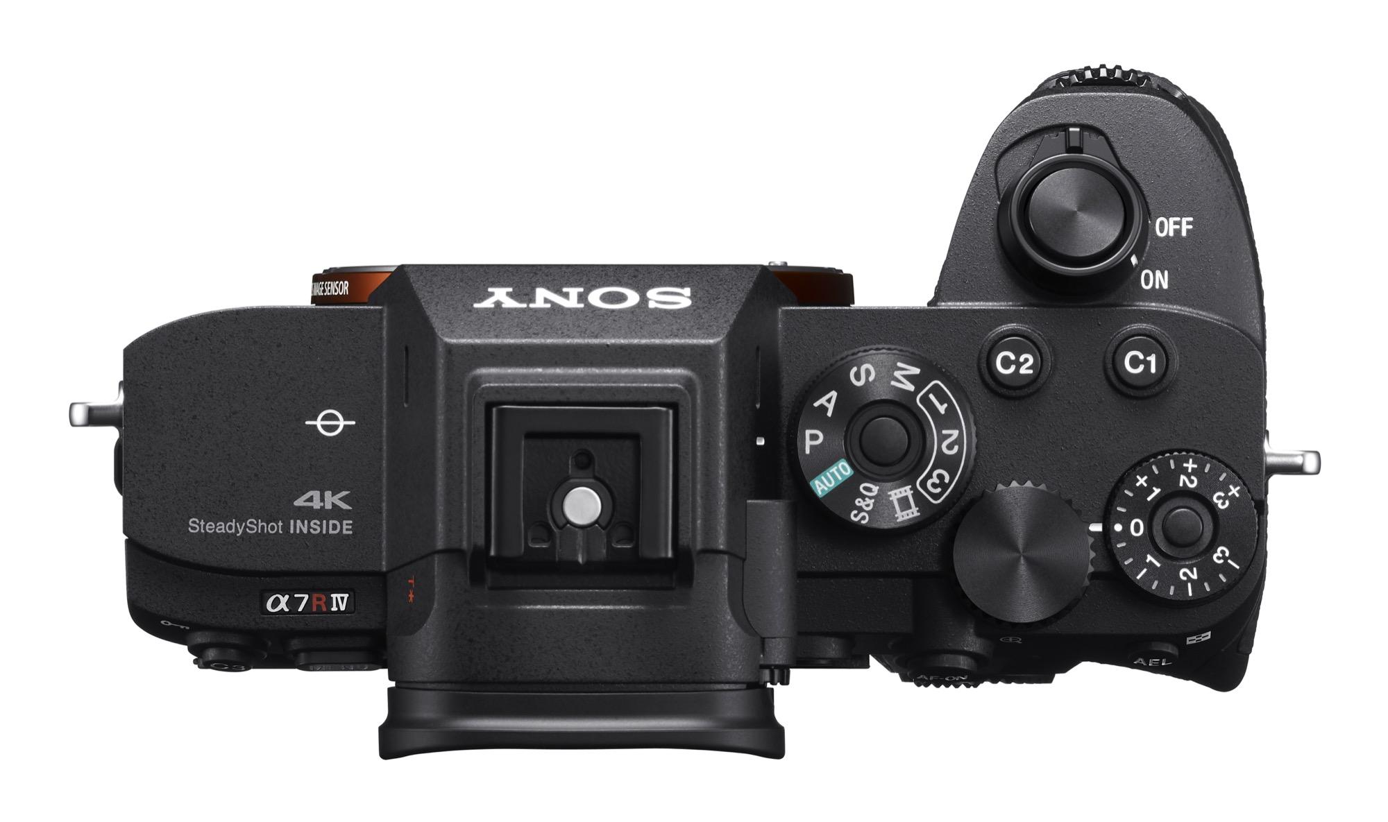 α7R IV camera top