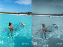 cool vacation presets