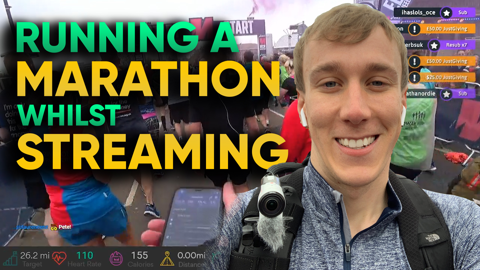 running marathon livestream