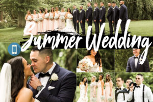 Summer Wedding Theme Mobile Lightroom Presets