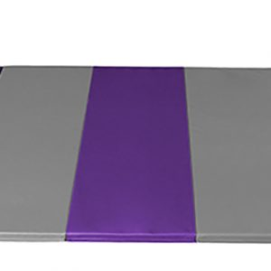 AAI Cheer Purple & Grey Panel Mat