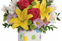 Flower Fashions Delightful Dots Bouquet