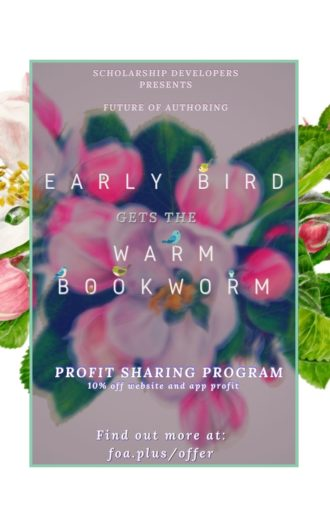 Early Birds get Warm BookWorms