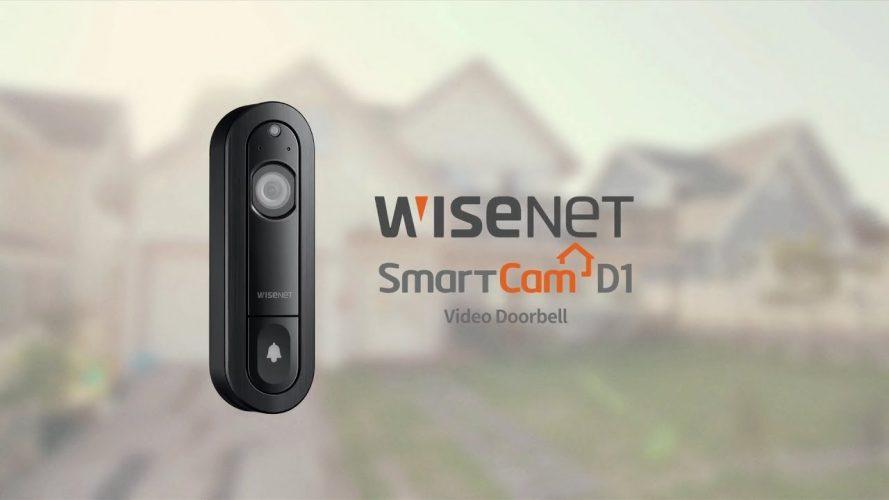 WisenetSmartCam D1 Doorbell
