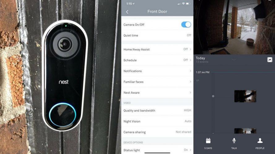 Nest Hello Doorbell Camera
