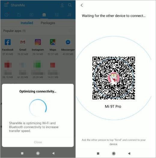 Transfer Data to New Xiaomi via Mi Mover