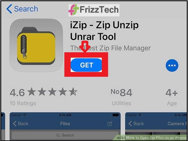 How to unzip Compressed files on the iphone ipad - IZip and Unzip