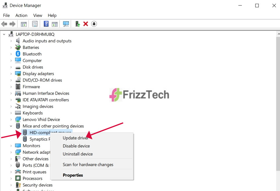 How to fix mouse lags in Windows 10 _ mouse driver update