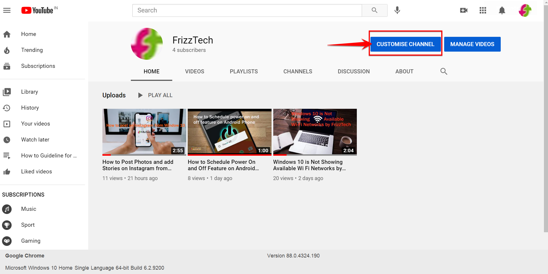How to create a Youtube channel Step-by-Step Guide - Customize Channel