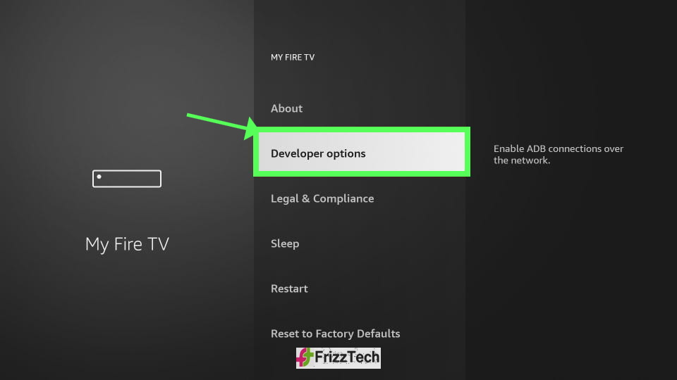 How to Jailbreak Firestick Detailed Guide - Dev mode