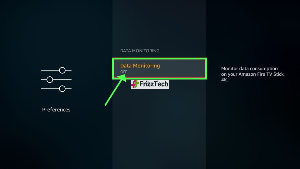 How to Jailbreak Firestick Detailed Guide - Data monitoring off