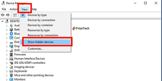 Bluetooth by Device Manager