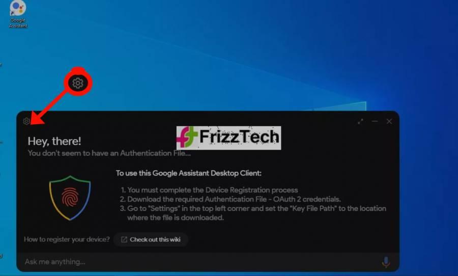 Google Assistance setup2