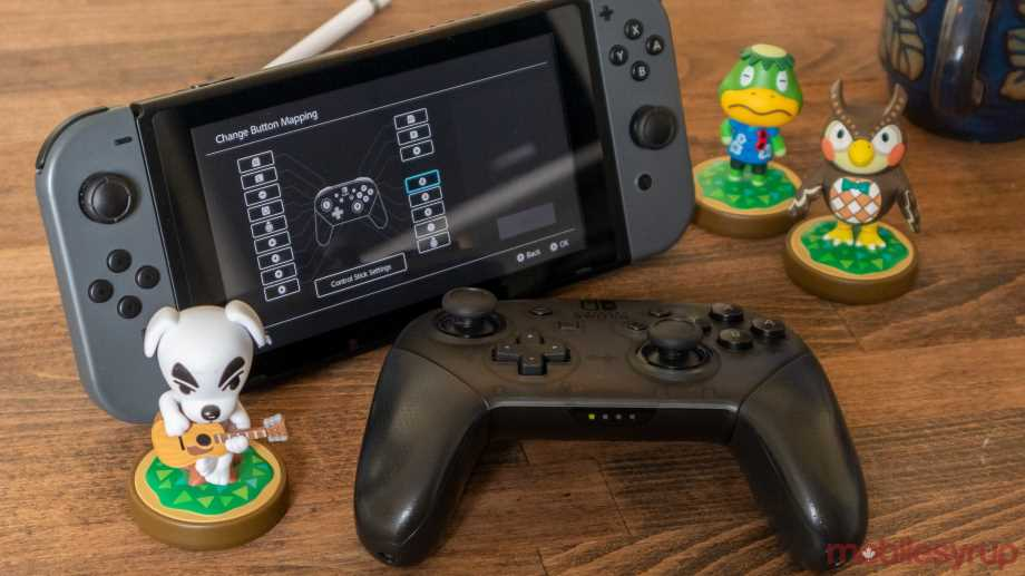 remap controller buttons on Nintendo switches