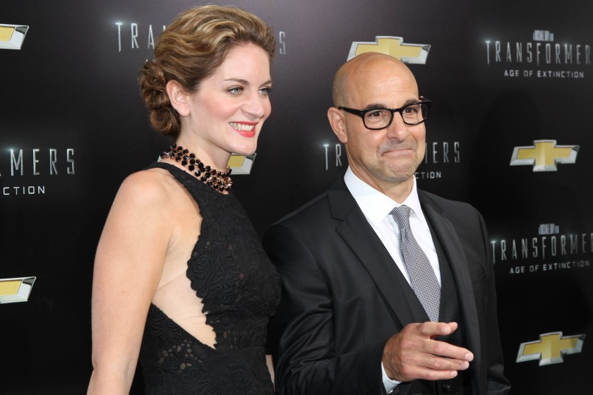 Stanley Tucci with Felicity